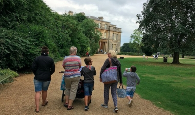 Day out at Normanby Hall